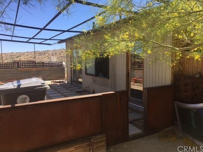 Joshua Tree Single Family Home For Sale: 62165 Holiday Way