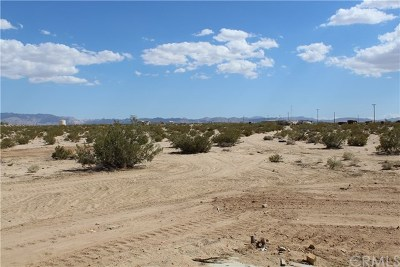 San Bernardino County Residential Lots & Land For Sale: Amboy Road