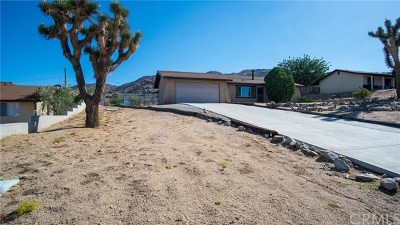 Joshua Tree Single Family Home For Sale: 61133 Navajo
