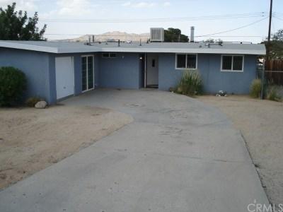 Joshua Tree Single Family Home For Sale: 61480 Alta Vista Drive