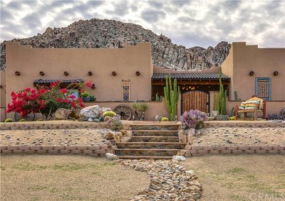 Joshua Tree Single Family Home For Sale: 6934 White Feather Road