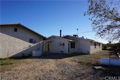 Joshua Tree Single Family Home For Sale: 63004 Del Oro Road