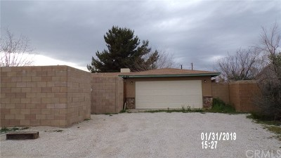Yucca Valley CA Single Family Home For Auction: $150,500