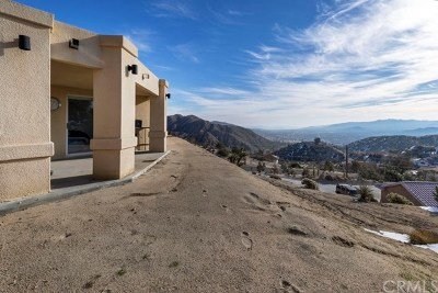 Yucca Valley Single Family Home For Sale: 53817 Ridge Road
