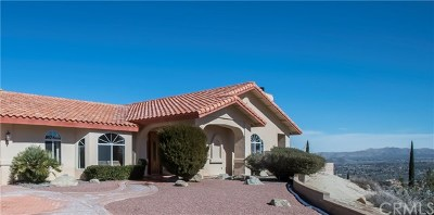 Yucca Valley Single Family Home For Sale: 54014 Pinon Drive