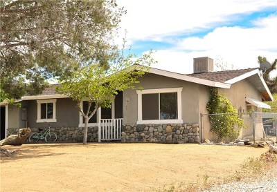 Yucca Valley Single Family Home For Sale: 57635 Pueblo