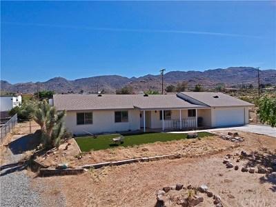 Joshua Tree Single Family Home For Sale: 61725 Melton Trail