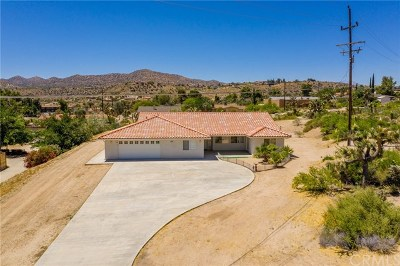 Yucca Valley Single Family Home For Sale: 54787 Benecia