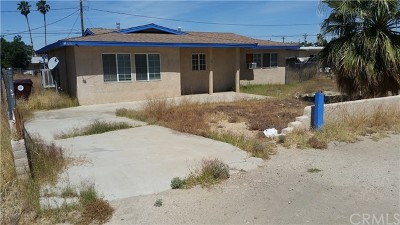 29 Palms CA Single Family Home For Sale: $85,000