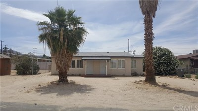 29 Palms Multi Family Home For Sale: 6372 Cienega Drive