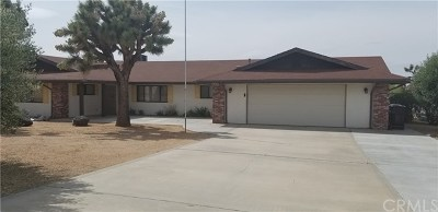 Yucca Valley Single Family Home For Sale: 58996 Pueblo