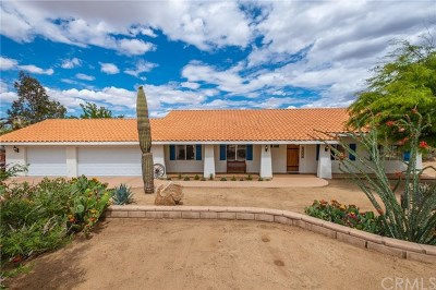 Yucca Valley Single Family Home For Sale: 58875 San Marino Drive