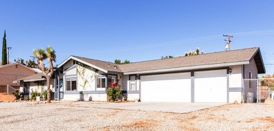 Yucca Valley Single Family Home For Sale: 8436 Grand Avenue