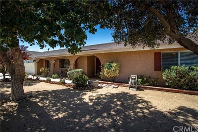 Yucca Valley Single Family Home For Sale: 8318 Balsa Avenue