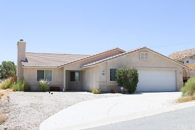 Desert Hot Springs Single Family Home For Sale: 12265 Redbud Road