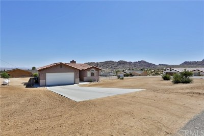 Joshua Tree Single Family Home For Sale: 61776 Navajo Trail