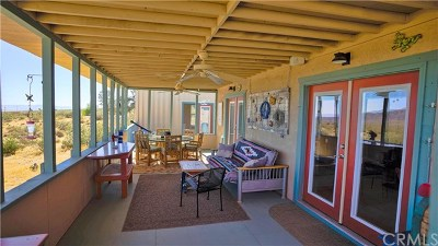 Joshua Tree Single Family Home For Sale: 6949 Old Copper Mountain Road