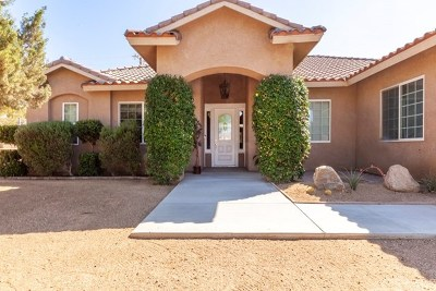 Yucca Valley Single Family Home For Sale: 8740 San Vicente Drive
