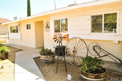 Yucca Valley Single Family Home For Sale: 7138 Hanford Avenue
