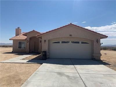 Joshua Tree Single Family Home For Sale: 2021 Border Avenue