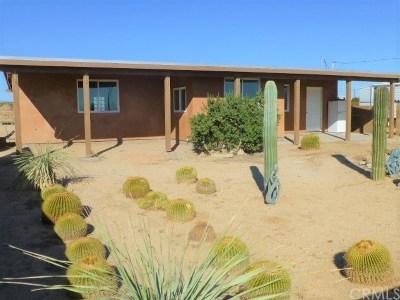 29 Palms Single Family Home For Sale: 2280 Pampas Avenue