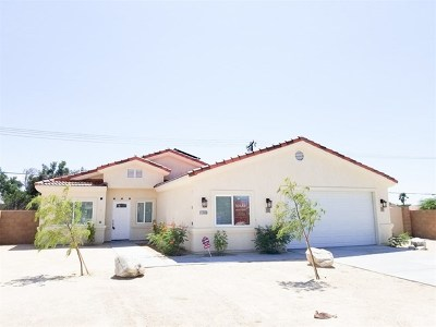 Desert Hot Springs Single Family Home For Sale: 13650 Cuyamaca Drive
