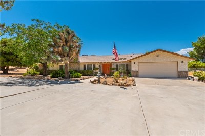 Yucca Valley Single Family Home For Sale: 9124 Joshua Ln