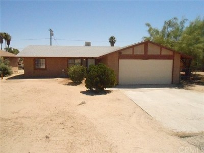 29 Palms Single Family Home For Sale: 5393 Mariposa Avenue