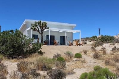 Joshua Tree Single Family Home For Sale: 3974 Sunburst Avenue