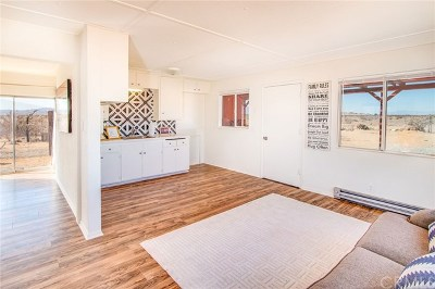 29 Palms Single Family Home For Sale: 80919 Brown Road