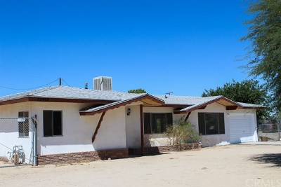29 Palms Single Family Home For Sale: 73398 Sunnyvale Drive