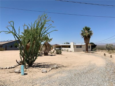 29 Palms Single Family Home For Sale: 72838 Two Mile Road