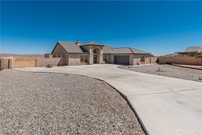 Yucca Valley Single Family Home For Sale: 57284 Dumosa Court