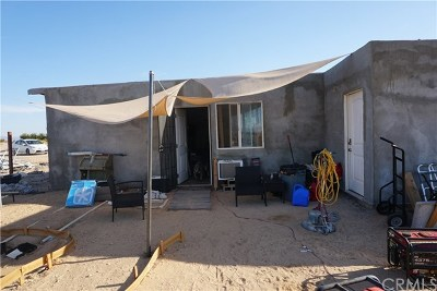 29 Palms CA Single Family Home For Sale: $125,000