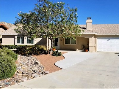 Yucca Valley CA Single Family Home For Sale: $279,000