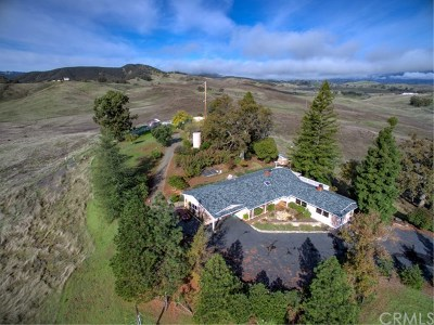 Lakeport Single Family Home For Sale: 4005 Hill Road