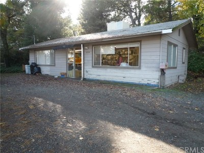 Lakeport CA Single Family Home For Sale: $150,000