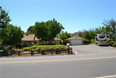 Clearlake Single Family Home For Sale: 2895 Old Highway 53