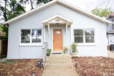 Upper Lake Single Family Home For Sale: 566 1st Street