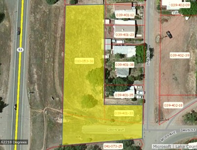Clearlake Residential Lots & Land For Sale: 15500 Davis Avenue