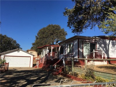 Clearlake Manufactured Home For Sale: 3965 Oak Avenue