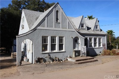 Kelseyville Single Family Home For Sale: 5860 Live Oak Dr