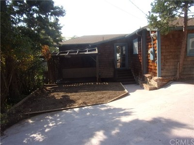 Clearlake Single Family Home For Sale: 12820 Lakeview Drive