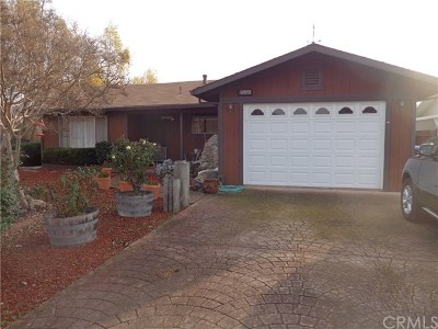 Clearlake Single Family Home For Sale: 12973 Konocti