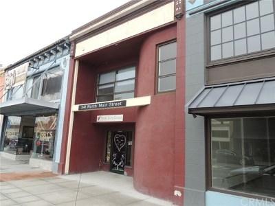 Lakeport Commercial For Sale: 341 N Main Street