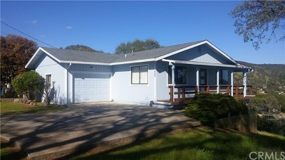 Clearlake Single Family Home For Sale: 3631 Oak Drive