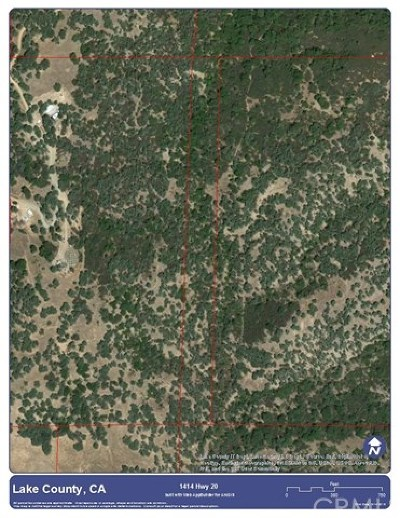 Upper Lake Residential Lots & Land For Sale: 10840 Bachelor Valley Road