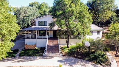 Clearlake Oaks Single Family Home For Sale: 1487 Old Long Valley Road