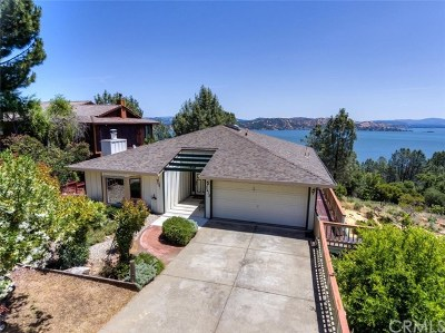 Kelseyville Single Family Home For Sale: 3612 Shoreline View Way