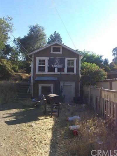 Clearlake Single Family Home For Sale: 14150 E Kabal Street E